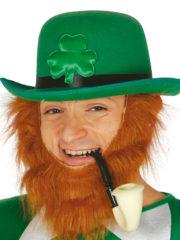 chapeaux melons, chapeau melon paris, chapeaux melons verts, chapeau melon vert, chapeau saint patrick, chapeaux paris saint patrick, chapeau trèfle saint patrick Chapeau Melon Saint Patrick, Trèfle Satin