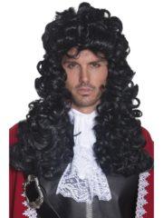 perruque pour homme cheveux longs, perruque molière, perruque pirate homme, perruque marquis, perruque noble cheveux noirs, perruque pour homme pas cher, perruque pour homme paris, perruque de capitaine pirate Perruque de Pirate, ou de Molière, Noire