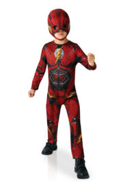 déguisement de flash pour garçon, costume de super héros enfant, costume de flash justice League garçon, déguisement justice League enfant, déguisement flash justice league garçon Déguisement de Flash Luxe, Justice League, Garçon