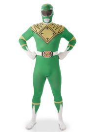 déguisement power rangers adulte, costume de power rangers pour homme, déguisement power rangers vert, déguisement de super héros adulte, costume super héros pour homme, déguisement de super héros power rangers, costume power rangers Déguisement Power Rangers, Vert