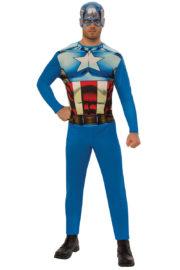 déguisement de captain America adulte, costume de captain America adulte, déguisement super héros adulte, costume super héros pour homme, déguisement de super héros Déguisement Captain America, Gamme Standard