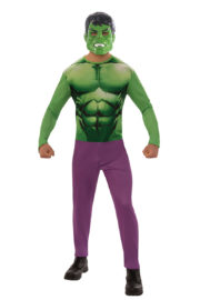 déguisement de Hulk pour adulte, costume de Hulk homme, déguisement super héros homme, déguisement super héros pour adulte, costume de super héros pas cher, déguisement de Hulk Déguisement de Hulk, Gamme Standard