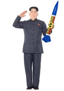 déguisement de militaire dictateur, costume de militaire coréen, déguisement de Kim Jong Un, déguisement président coréen, déguisement corée du nord, kimjongun, Déguisement de Dictateur Militaire, Kim Jong Un