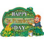décoration saint patrick, décor saint patrick, décoration happy saint patrick Décor Happy Saint Patrick, Carton, 40 cm