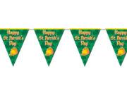 guirlande fanions saint patrick, décorations saint patrick, guirlande saint patrick's day, guirlande de fanions saint patrick Guirlande Fanions Happy Saint Patrick's Day