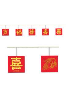 décoration chine, décoration nouvel an chinois, guirlande drapeau de la chine, guirlande drapeaux chinois, guirlande nouvel an chinois, Guirlande Nouvel An Chinois, Meilleurs Voeux