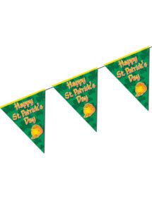 guirlande fanions saint patrick, décorations saint patrick, guirlande saint patrick's day, guirlande de fanions saint patrick, Guirlande Saint Patrick, Fanions Happy Saint Patrick's Day