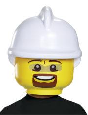 masque de lego, masque de légo, déguisement lego, costume de légo, se déguiser en lego, idée déguisement enfance, masque lego pompier, casque lego pompier Masque de Lego™, Pompier