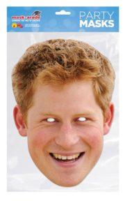 masque de prince harry, masque de célébrités, masques célébrités Harry, masques célébrités prince Harry Angleterre Masque Prince Harry