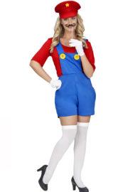 déguisement mario girl, déguisement mario femme Déguisement de Mario Girl