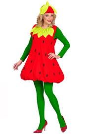 déguisement de fraise, déguisement fraise femme, déguisement fraise adulte, déguisement fruits, costume de fraise Déguisement de Fraise, F