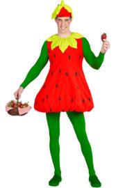 déguisement de fraise, déguisement fraise homme, déguisement fraise adulte, déguisement fruits, costume de fraise Déguisement de Fraise, H