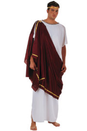 déguisement de romain, déguisement antiquité romaine, déguisement de romain luxe, déguisement haute qualité, déguisement qualité prémium, costume de romain Déguisement Greco-Romain, Sénateur, Prémium
