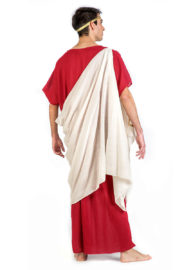 déguisement de romain, déguisement antiquité romaine, déguisement de romain luxe, déguisement haute qualité, déguisement qualité prémium, costume de romain Déguisement Romain, Auguste, Prémium