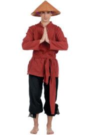 déguisement chinois, déguisement de chinois, costume de chinois, déguisement haute qualité, déguisement tintin au tibet, déguisement de chinois rizières Déguisement Chinois, Tchang, Prémium
