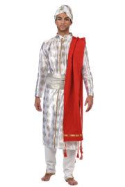 déguisement bollywood homme, costume bollywood, costume oriental homme, déguisement oriental homme, déguisement hindou Déguisement Hindou Traditionnel, Prémium