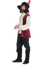 déguisement de mousquetaire, costume mousquetaire homme, déguisement de mousquetaire adulte, déguisement haute qualité, déguisement mousquetaire luxe, déguisement complet mousquetaire Déguisement de Mousquetaire, Prémium