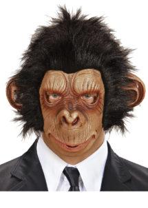 masque de singe, masque de singe en latex, masque planète des singes, accessoire déguisement de singe, masque de chimpanzé, masques animaux en latex, masque d'animal, masque de singe, Masque de Chimpanzé, Planète des Singes