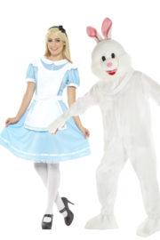 déguisement couple, déguisement à deux, déguisement Alice au pays des merveilles, déguisements de couples Déguisement Couple Alice Wonderland