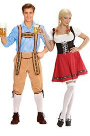 déguisement couple, déguisement couple bavarois, déguisements Oktoberfest, déguisements couples de bavarois Déguisement Couple de Bavarois