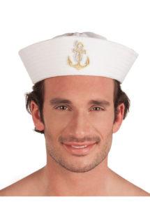 bob de marin, béret de marin, chapeau de marin, bob de la marine, chapeaux marins paris, Bob Marin, Ancre Brodée Dorée