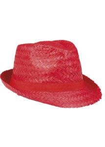 chapeau hawaï, chapeau hawaïen, accessoires hawaï, accessoires pour soirée hawaïenne, chapeaux de paille, accessoires chapeaux, Chapeau Hawaï, Aruba, Paille Rouge