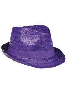 chapeau hawaï, chapeau hawaïen, accessoires hawaï, accessoires pour soirée hawaïenne, chapeaux de paille, accessoires chapeaux, Chapeau Hawaï, Aruba, Paille Violet