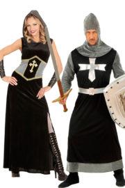 déguisement couple chevaliers, déguisements de couples, déguisement à deux, soirée à thème chevaliers, déguisement chevaliers Déguisement Couple de Chevaliers