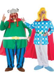déguisement couples célèbres, déguisements célébrités, déguisement asterix, déguisement bande dessinée, déguisement héros de notre enfance, déguisements couples célèbres Déguisement Couple Abraracourix Assurancetourix
