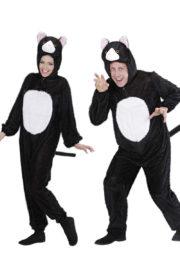 déguisement couple, déguisement de chat, déguisements à deux, costumes de chats, déguisements animaux, déguisement couple animaux Déguisement Couple de Chats Noirs