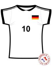 coupe du monde 2018, déco Allemagne coupe du monde, supporter Allemagne, accessoire Allemagne supporter Décoration Supporter Maillot de Foot, Allemagne