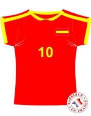 coupe du monde 2018, déco Espagne coupe du monde, supporter Espagne, accessoire Espagne supporter Décoration Supporter Maillot de Foot, Espagne