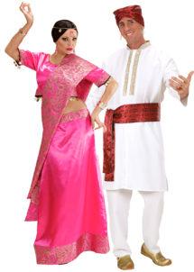 déguisements bollywood, déguisement à deux, déguisements couples indiens bollywood, costumes bollywood, déguisements couples, déguisements soirée à thèmes, Déguisements Couple, Bollywood