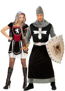 déguisement couple chevaliers, déguisements de couples, déguisement à deux, soirée à thème chevaliers, déguisement chevaliers, Déguisements Couple, Chevaliers