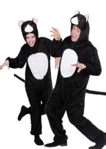 déguisement couple, déguisement de chat, déguisements à deux, costumes de chats, déguisements animaux, déguisement couple animaux, Déguisements Couple, Chats Noirs