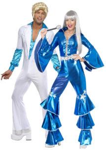 déguisements disco, déguisement couple années 70, déguisements couples, déguisements abba, déguisement à deux disco, déguisement soirée à thème disco, Déguisements Couple, Années 70 Disco, Abba