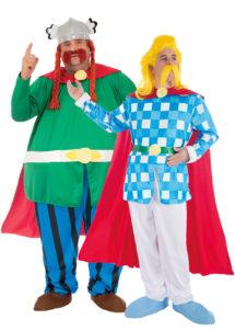 déguisement couples célèbres, déguisement asterix, déguisement bande dessinée, déguisement héros de notre enfance, déguisements couples gaulois, Déguisements Couple, Abraracourix Assurancetourix