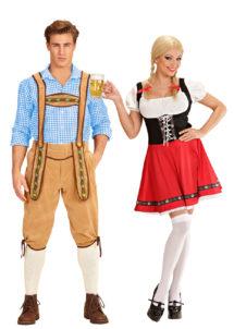déguisement couple, déguisement couple bavarois, déguisements Oktoberfest, déguisements couples de bavarois, Déguisements Couple, Bavarois