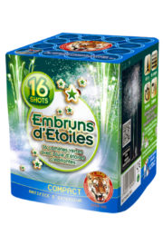 feu d'artifice embruns d'étoiles, feux d'artifice automatiques, achat feux d'artifice paris, feux d'artifices compacts, feux d'artifices pyragric Feux d'Artifices Compacts, Embruns d'Etoiles