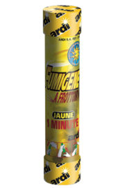 fumigène jaune, fumigène à main, fumigène à frottoir, fumigène de stade, fumigène jaune Fumigène à Main, à Frottoir, Jaune