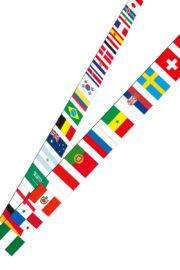 guirlande coupe du monde, guirlande drapeaux multi pays, guirlande pays, guirlande fanions pays, guirlande fanions coupe du monde 2018, guirlande drapeaux 32 pays Guirlande Drapeaux 32 Pays Coupe du Monde