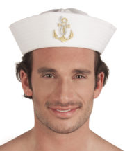 bob de marin, béret de marin, chapeau de marin, bob de la marine, chapeaux marins paris Bob Marin, Ancre Brodée Dorée