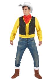 déguisement lucky luck, déguisement bande dessinée, déguisement personnage célèbre, déguisement de cowboy, costume de lucky luck, déguisement luckyluc Déguisement de Lucky Luck, Lonesome Cowboy