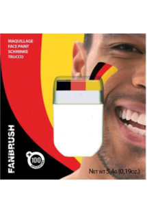 maquillage supporter Allemagne, coupe du monde 2018, supporter Allemagne, accessoire supporter Allemagne, mondial 2018, Maquillage de Supporter, Allemagne, Noir, Jaune, Rouge