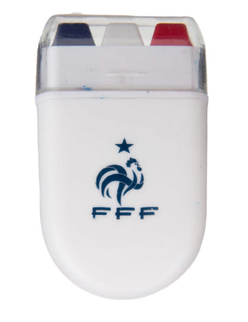 maquillage supporter France, maquillage tri bande, coupe du monde 2018, maquillage  France coupe nouveau
