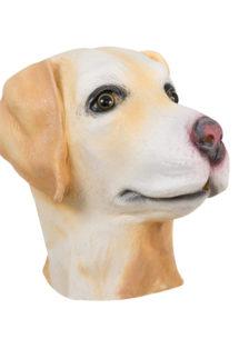 masques animaux, masque de chien, masque de chien en latex, masques d'animaux, Masque de Chien Espiègle, en Latex