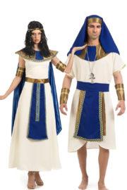 déguisements d'égyptiens, déguisements couples, costume égyptiens, déguisements clé-pâtre et pharaons, déguisement soirée à thème Déguisement Couple d'Egyptiens, Cléopatre et Chéops