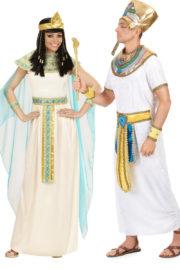 déguisements d'égyptiens, déguisements couples, costume égyptiens, déguisements clé-pâtre et pharaons, déguisement soirée à thème Déguisement Couple d'Egyptiens, Cléopatre et Ramses