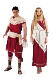 déguisements de romains, déguisements à deux, déguisements romains, déguisements de rome antique Déguisement Couple de l'Antiquité Romaine