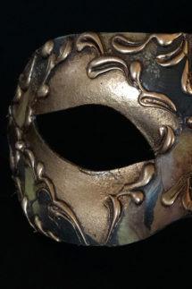 loup vénitien, masque vénitien, loup vénitien fait à la main, masque vénitien haute qualité, masque pour carnaval de venise, Vénitien Stucco, Stuc et Peintures, Cuivré